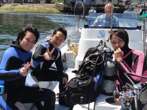 後藤さん、関守さん、福島さん