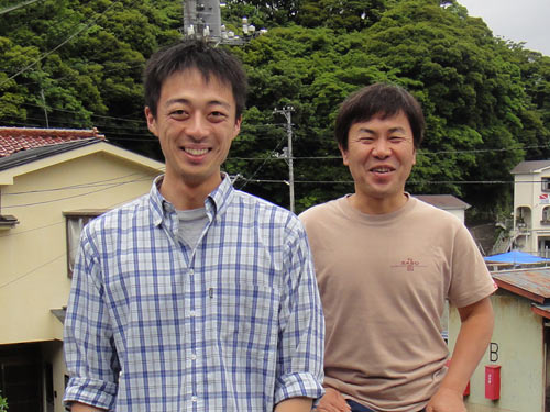 上田(カミタ)さんとガイドKZ