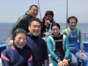 中山さんご夫婦、大村さん、山我さん、湯浅さんご夫婦
