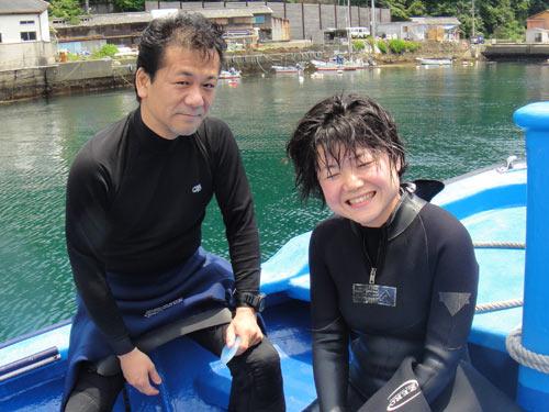 初田子の安岡さん、白沢さん