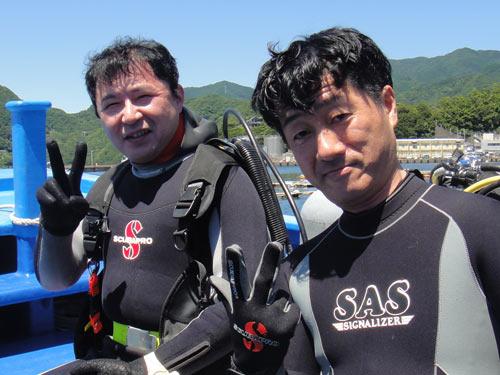 勝俣さん、戸島さん