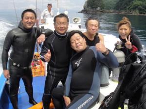 岩根さん&大村さん&柳谷さん&永井さん