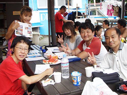 井上さん&細淵さん&青井さん&車田さん