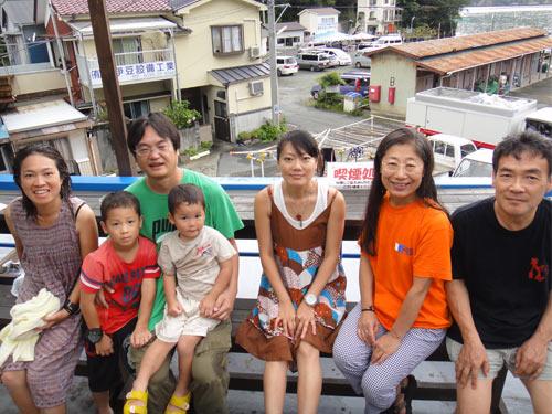 町田さんご家族&秋野さん&中山さんご夫婦