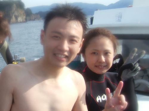 山田祐介さん&みさきさんご夫婦
