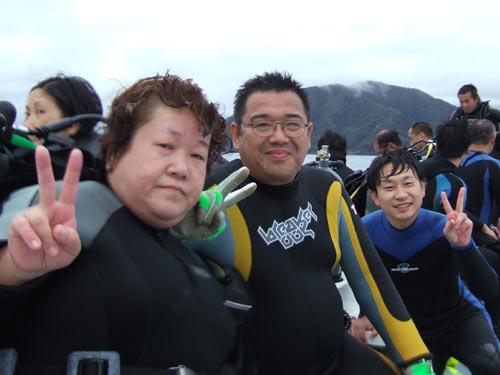横川さんご夫婦&荻原さん