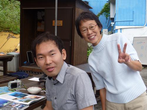 鈴木(手袋)さん&井上さん