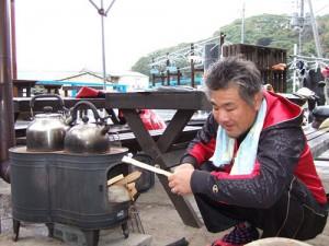 薪ストーブの火付け役?西村さん