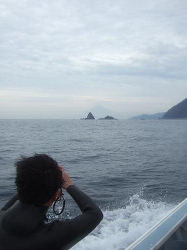 富士山を撮る三島さん