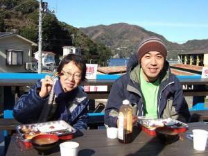 日向でランチ~井上さん&長崎さん