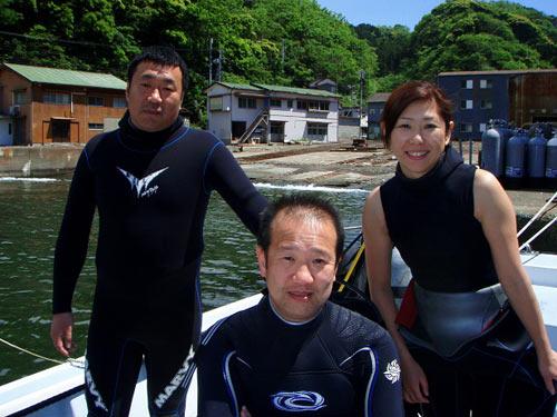 中野さん&山口さん&真子ちゃん