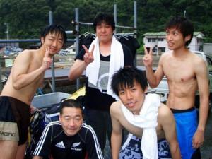 吉村さん、殿村さん、横井さん、芦沢さん、高橋さん