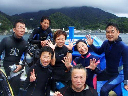 櫻井さん、中川さん、井上さん、鈴木さん、永井さん、中山さんご夫婦