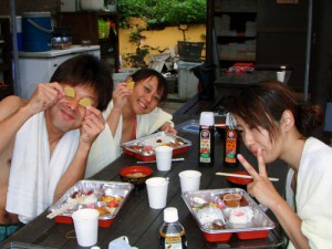長谷川さん、岩久さん、岡本さん