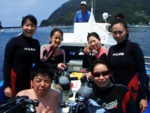工藤さん、平本さん、野崎さん、上野さん、清野さん、瀬川さん