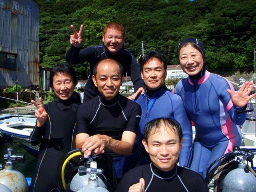 井上さん、車田さん、中山さんご夫婦、加藤さん