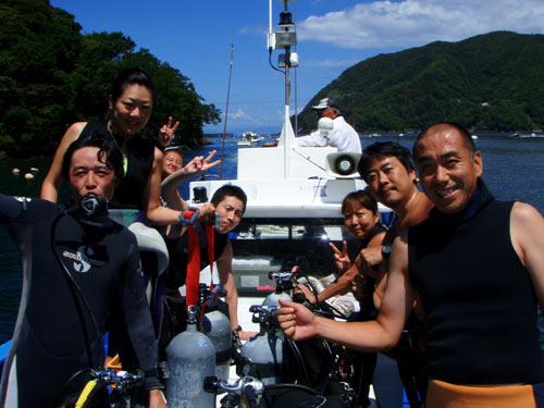 藤巻さん、秋野さん、三戸さん、矢野さんご夫婦、長崎さん