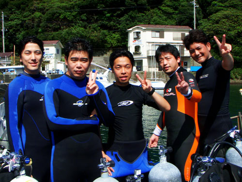 長田さん、三輪さん、森戸さん、鷹見さん、増田さん