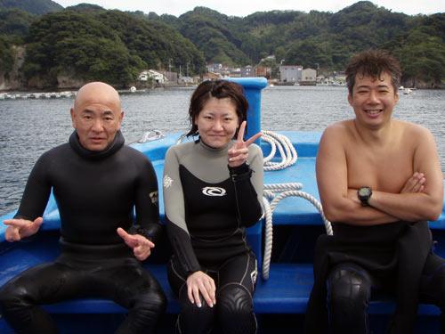 小野さん親子と吉田さん