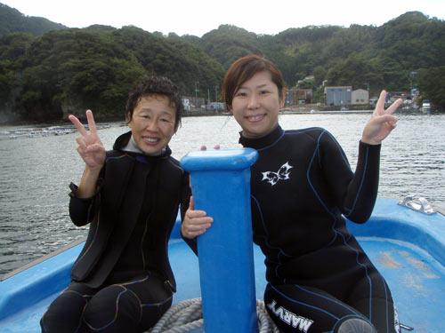 井上さん&真子ちゃん