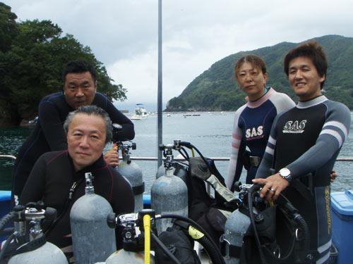永井さん、中野さん、杠(ゆずりは)さんご夫婦