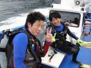 研修生のユウリ&浅賀さん