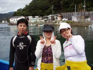 栗田さん&初鹿野さん親子