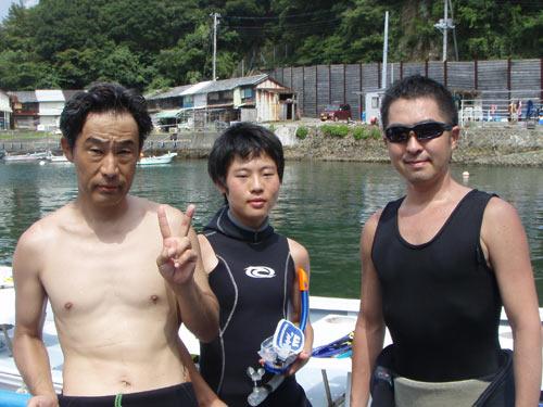 田中さん親子&遠山さん