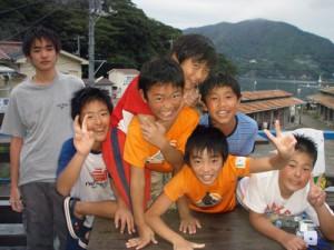 体験Dの高崎のミニバスケットチーム