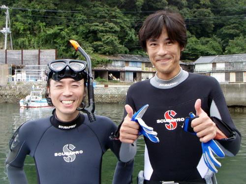 河島さん&芳中さん