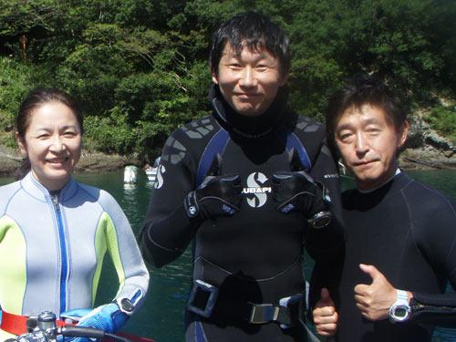 磯貝(母)さん&下田さん&富樫さん