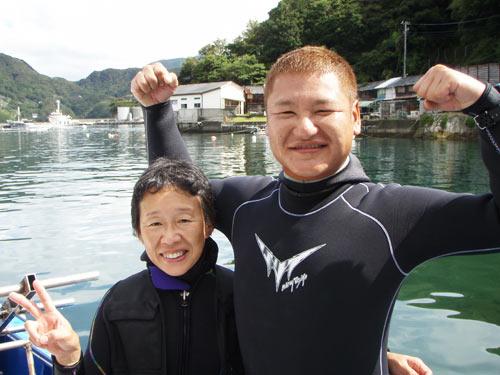 神奈川の井上さん&ガイド藤井