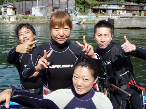 矢野さんご夫婦&三戸さん&秋野さん