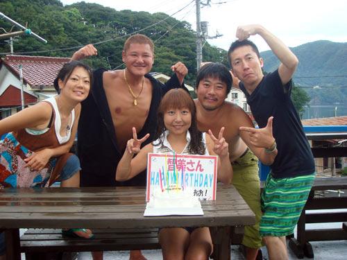 秋野さん&オーナー藤井&矢野さんご夫婦&三戸さん