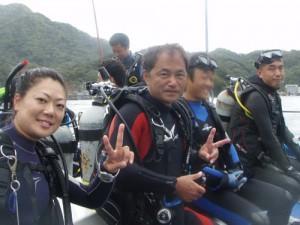 秋野さん&宮沢さん&Y&長崎さん