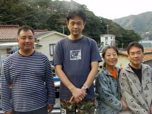 内藤さん&仙野さん&中山さんご夫婦