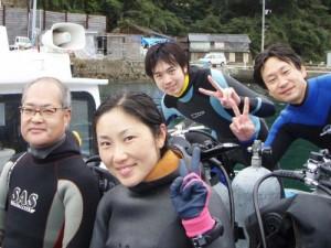 高田さん&岡村さん&萩原さん&村上さん