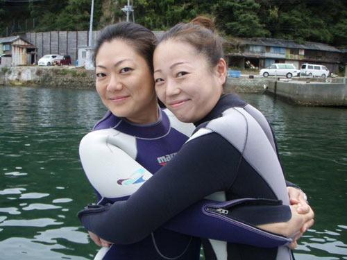 秋野さん&広瀬さん
