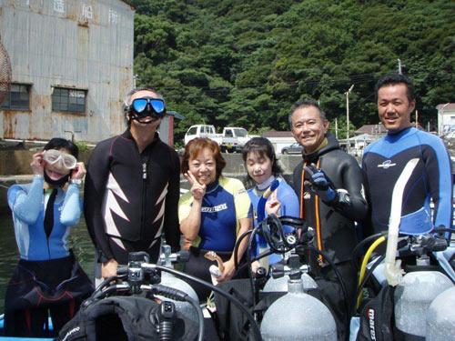中村さん、永井さん、鈴木さん、菅井さんご夫婦、船橋さん