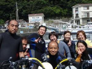 長崎さん、宮沢さん、金子さん、車田さん、外波さん、杉山さん、橋爪さん、鈴木さん