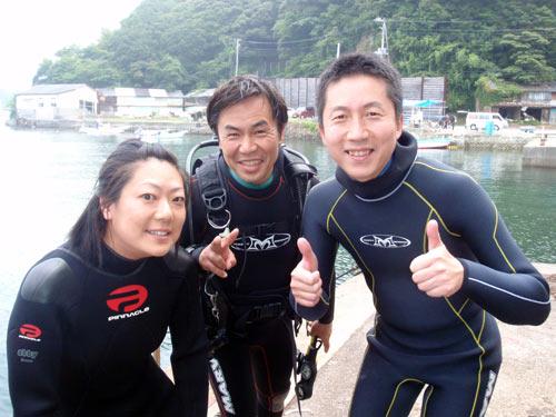 秋野さん&スタッフKZ&三戸さん