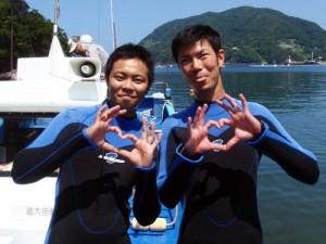 阿部さん&藤田さん