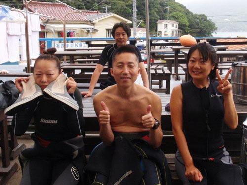 広瀬さん&藤巻さん&三戸さん&秋野さん