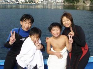早川さんご家族