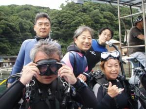 永井さん&中山さんご夫婦&田中さん&柏崎さん
