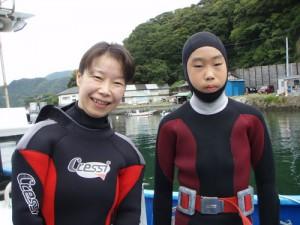清野さん&澤山くん