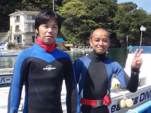 栗田さん&車田さん