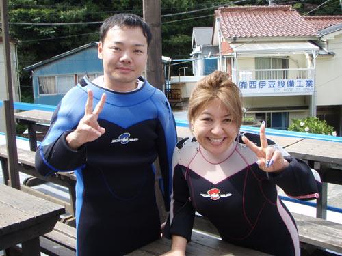 疋田さん&砂生(さそ)さん