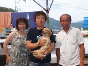 谷内さんご夫婦&キナコちゃん&車田さん
