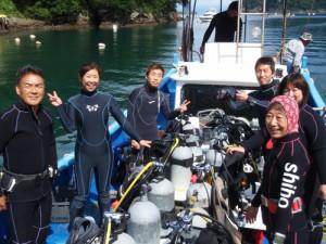 杉山さん&鈴木さん&三戸さん&外波さん&中山さんご夫婦